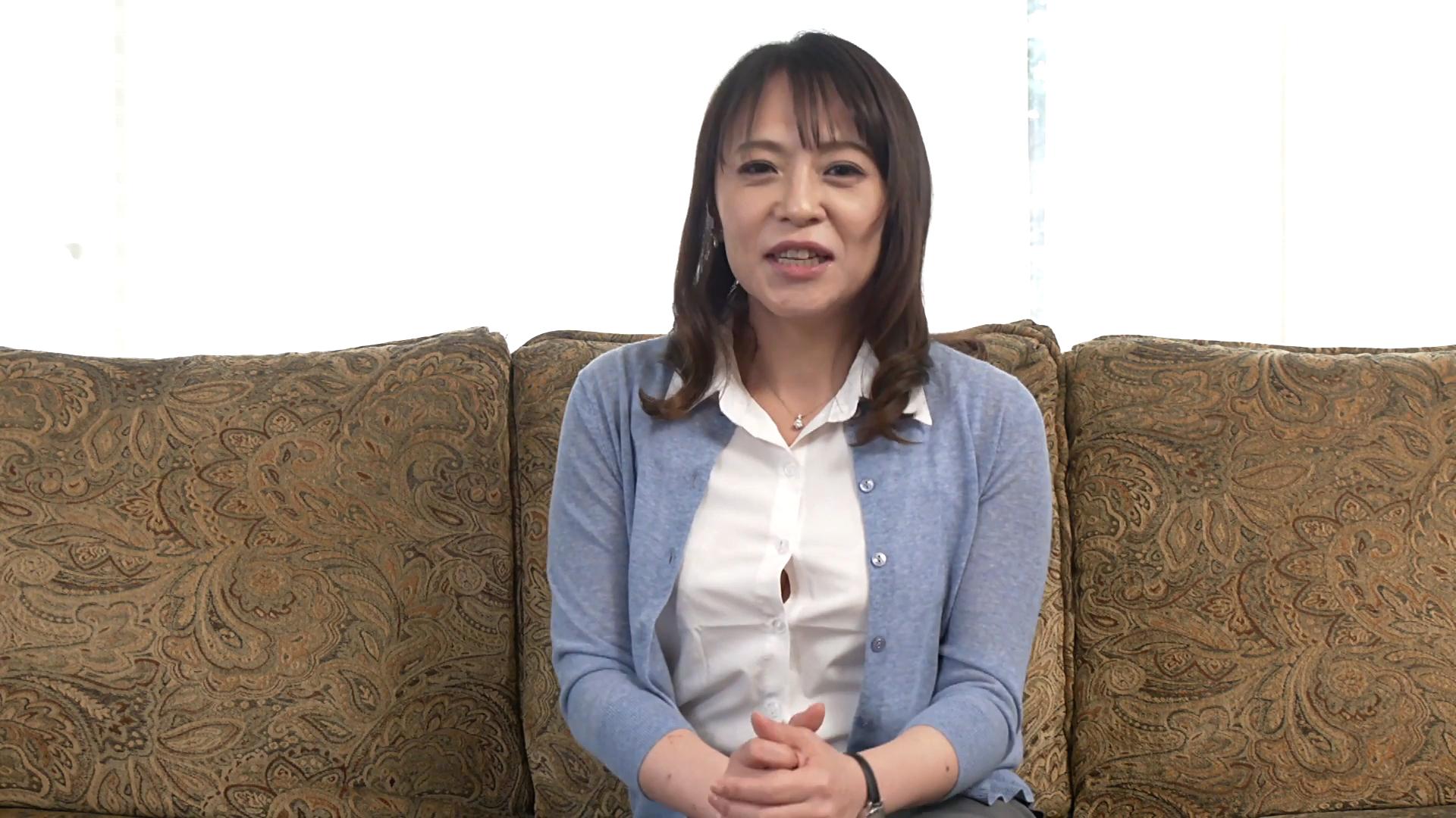 石川美恵子 47歳(初脱ぎ・デビュー作/結婚18年目/神奈川県在住)